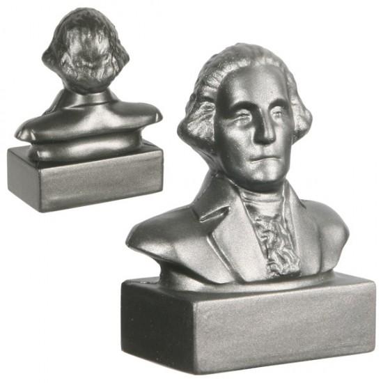 Custom Logo George Washington Bust Stress Toys