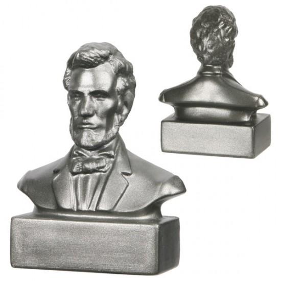 Custom Logo Abraham Lincoln Bust Stress Toys