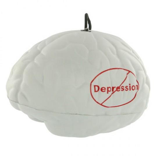 Custom Logo Brain Yo-Yo Bungee Stress Toy